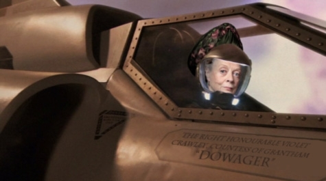 Dowager in Space