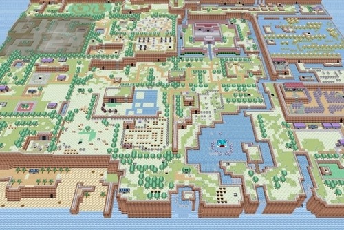 giant PNG version of entire Zelda map