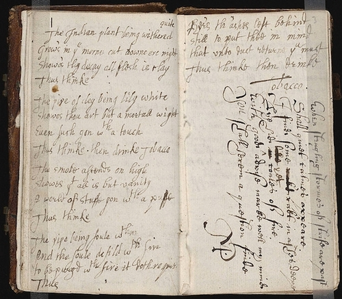 17th Century commonplace book