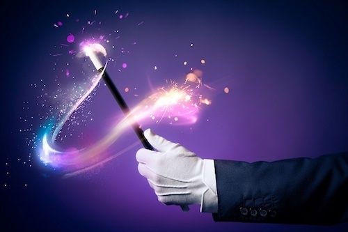 image of magic wand
