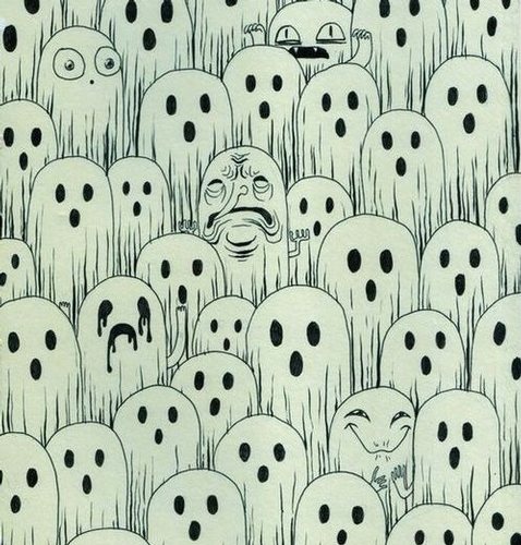 ghosts illustration