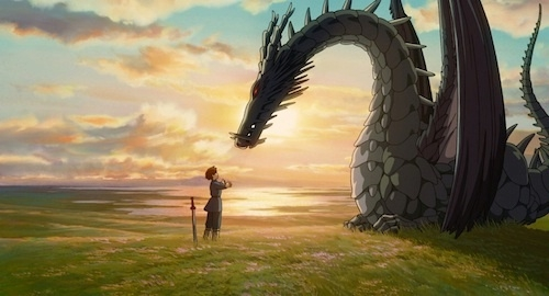 still from Tales from Earthsea