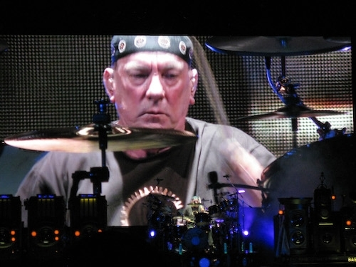 photo of Neil Peart drum solo by ArtBrom from Seattle