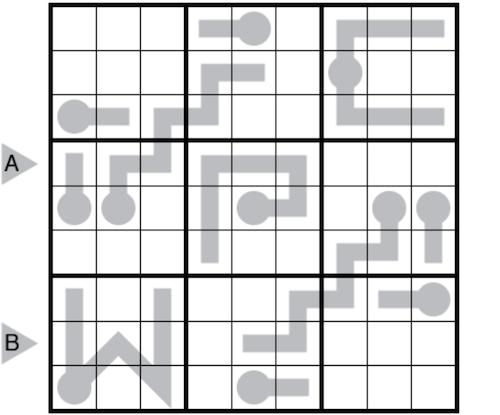 image of a logic puzzle